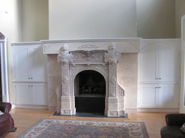 The Custom Carpenter – Fireplaces