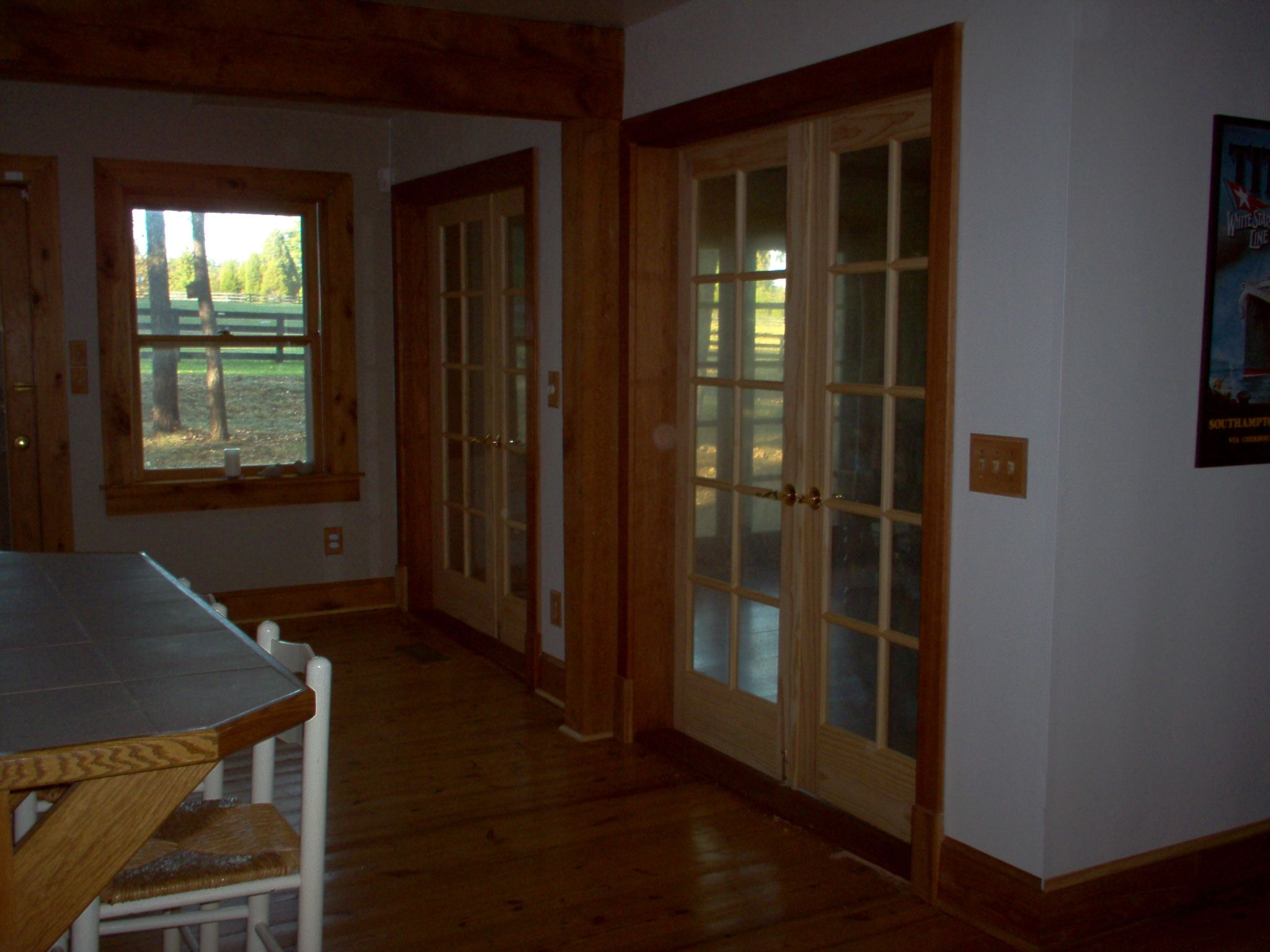 Pair French doors