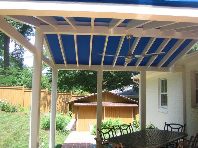 Canvas Pergola Roof