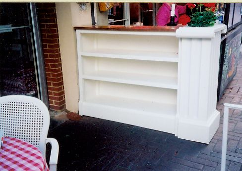 Outdoor shelving