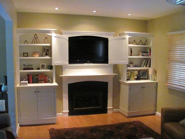 Recessed Tv Cabinet